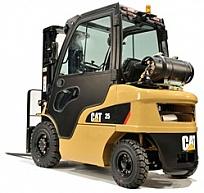 Nowe kabiny do wózków Cat® DP20-55N