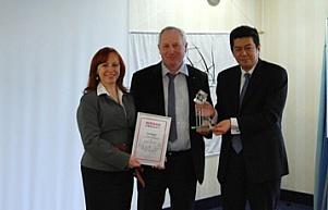 POLSAD piąty raz Dealerem Roku Nissan Forklift!!