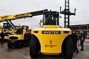 Nowe wózki wagi ciężkiej HYSTER'A
