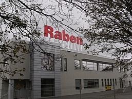 Nowy magazyn Raben Polska w Cholerzynie