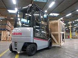 NISSAN serii QX2 z napędem 80 V AC