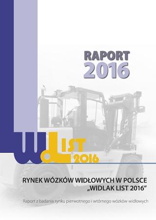 Raport o rynku wózków widłowych Widlak List 2016