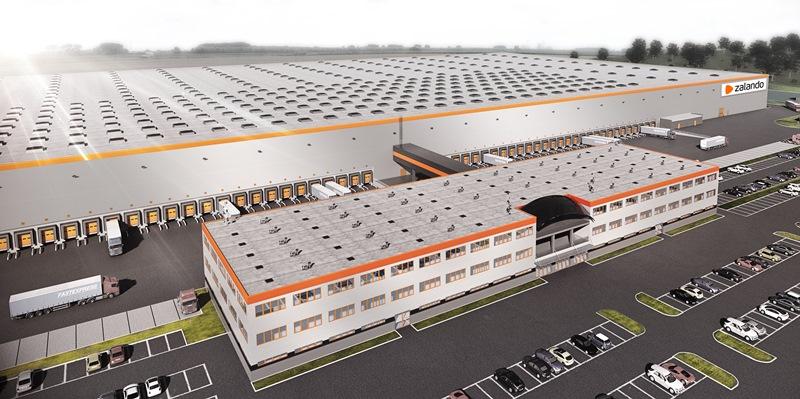 Centrum logistyczne Zalando w Polsce