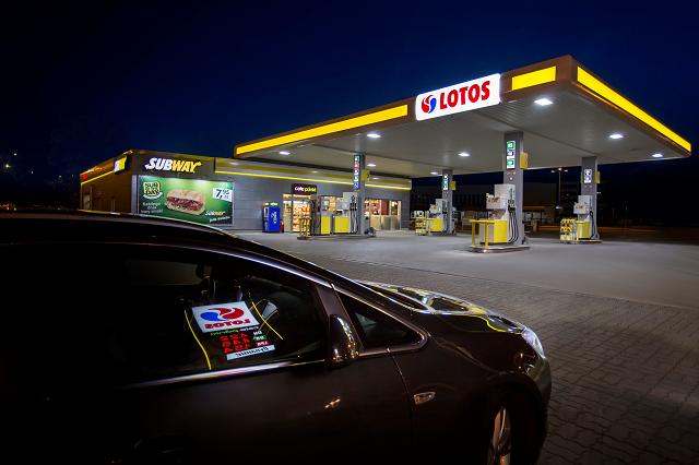 Nowa stacja sieci LOTOS przy A1