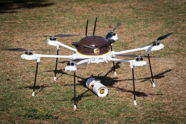 UPS I CYPHY ROZPOCZĘŁY TESTY DRONA