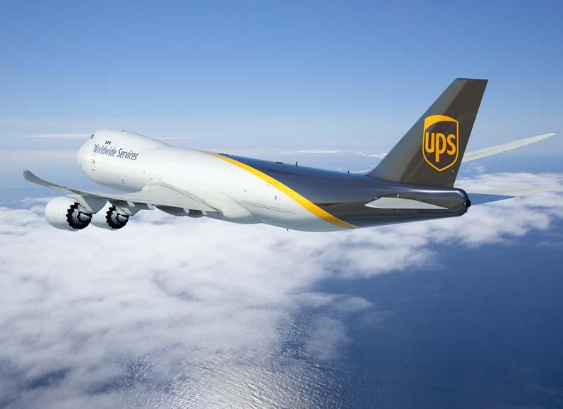 UPS zwiększa flotę samolotów frachtowych