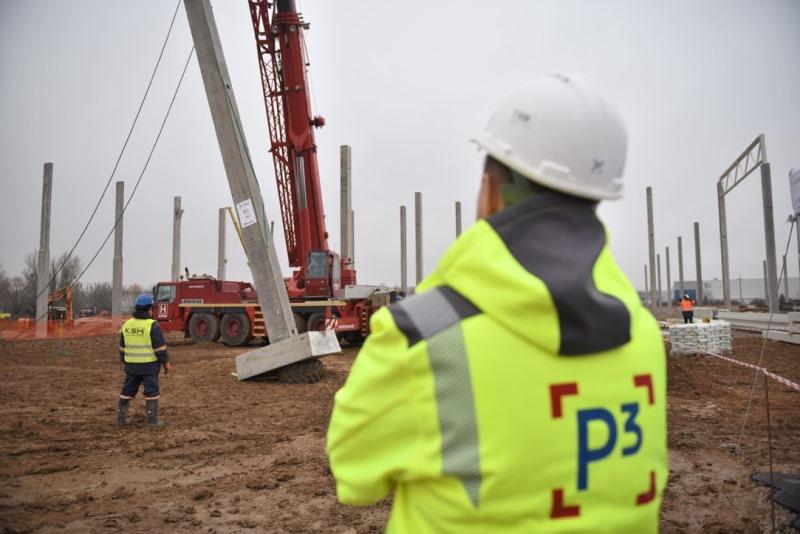 Rozbudowa parku logistycznego P3 Błonie