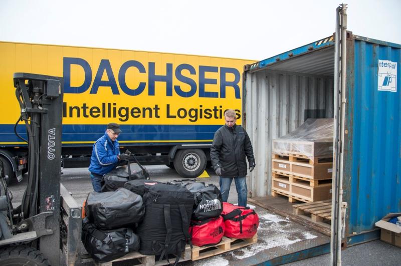 Pilna antarktyczna przesyłka