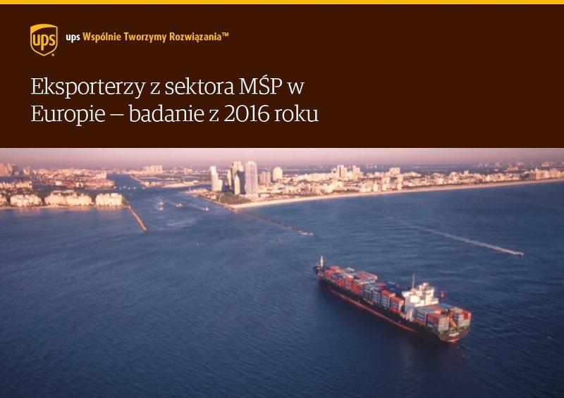 Badanie European SME Exporting Insights