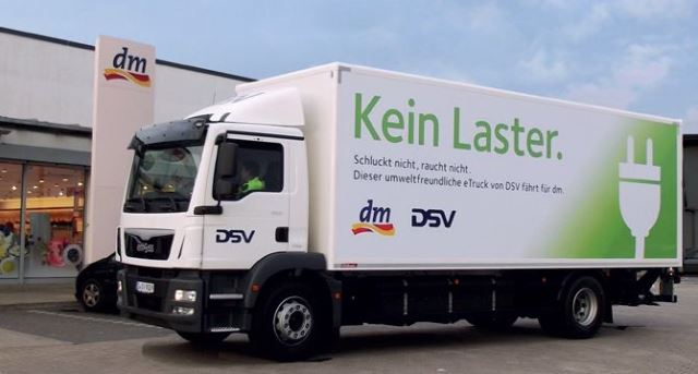 Zielony transport DSV