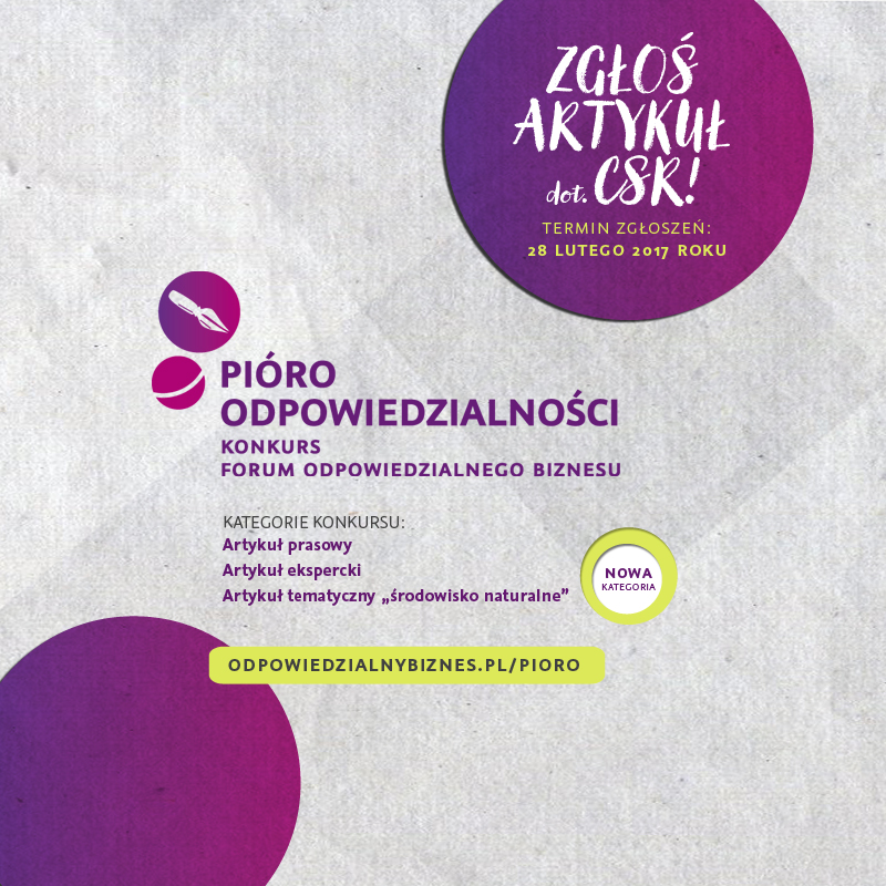 Specjalna kategoria w konkursie FOB