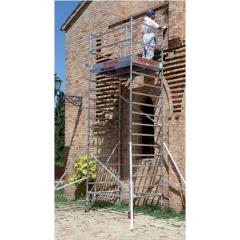 Rusztowanie / wieże jezdne TOP SYSTEM o wymiarach podstawy 135 x180 cm
