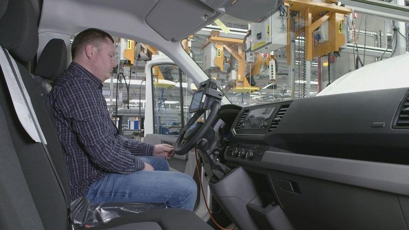 Mobilne rozwiązanie do testowania pojazdów (AMTS)