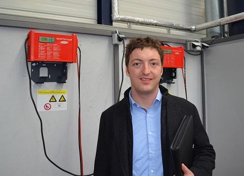 Johannes Kopf, kierownik projektu planowania inwestycji w Hansgrohe,