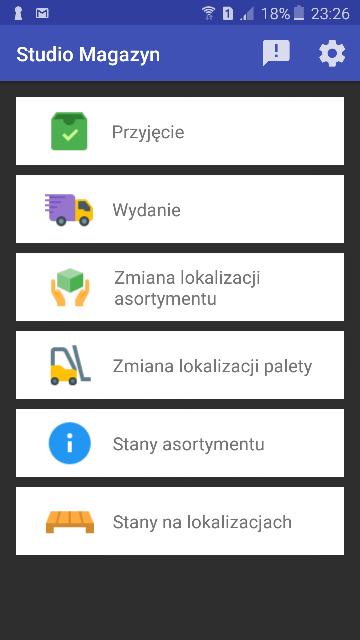 Magazyn WMS.net - wersja na urządzenia z systemem Android