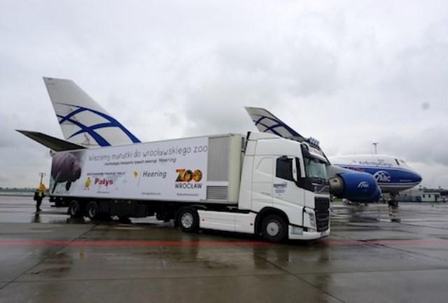 Volvo Trucks przewiozło manatki