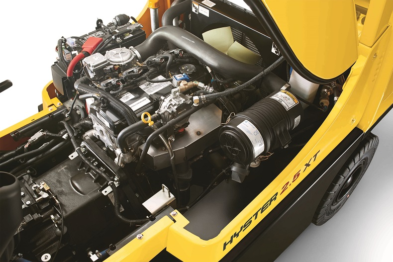 NEW LPG ENGINES FOR HYSTER® FORKLIFTS INCREASE FUEL EFFICIENCY AND POWER_a