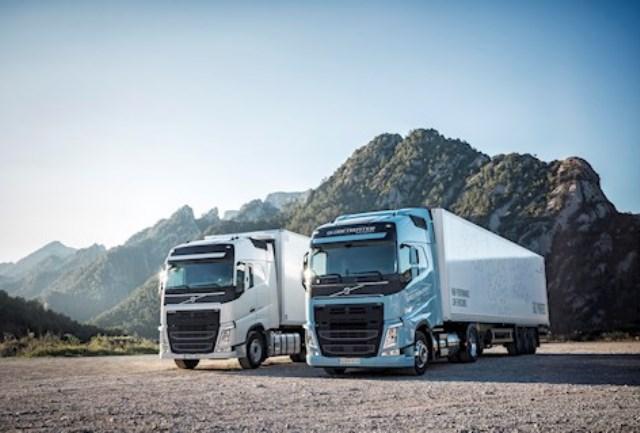 Nowe samochody ciężarowe Volvo zasilane LNG