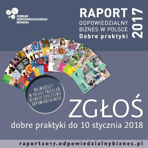 Raport o dobrych praktykach i odpowiedzialnym biznesie
