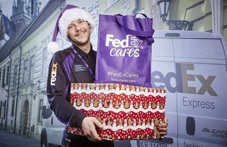 Chcemy wysyłać prezenty świąteczne