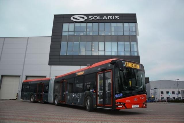 Nowoczesne autobusy Solaris