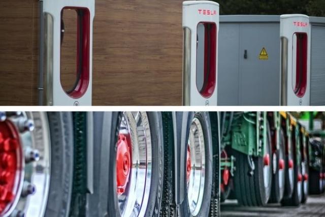 Elektryczna Ciężarówka Tesli a tradycyjne pojazdy