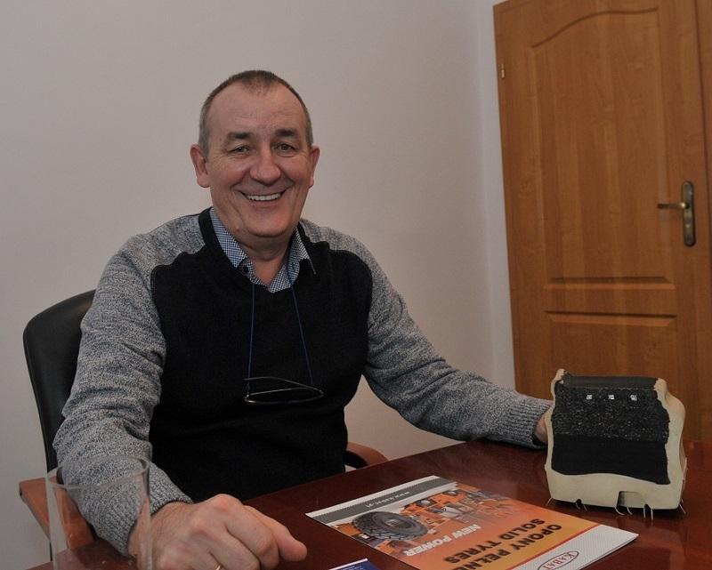 Andrzej Kabat_współwłaściciel firmy KABAT TYRE