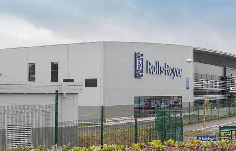 Globalnie dla Rolls-Royce'a