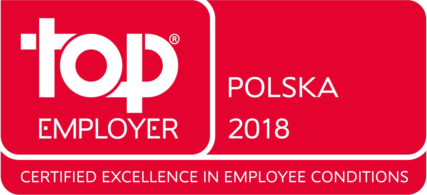 Nagrodzone najwyższe standardy warunków pracowniczych