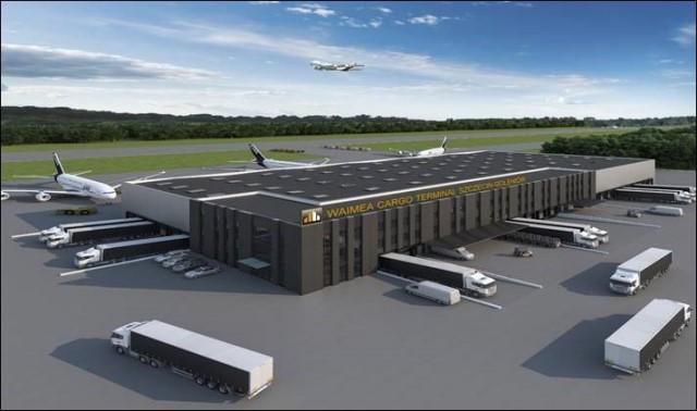 Drugi terminal cargo Waimea Holding S.A.
