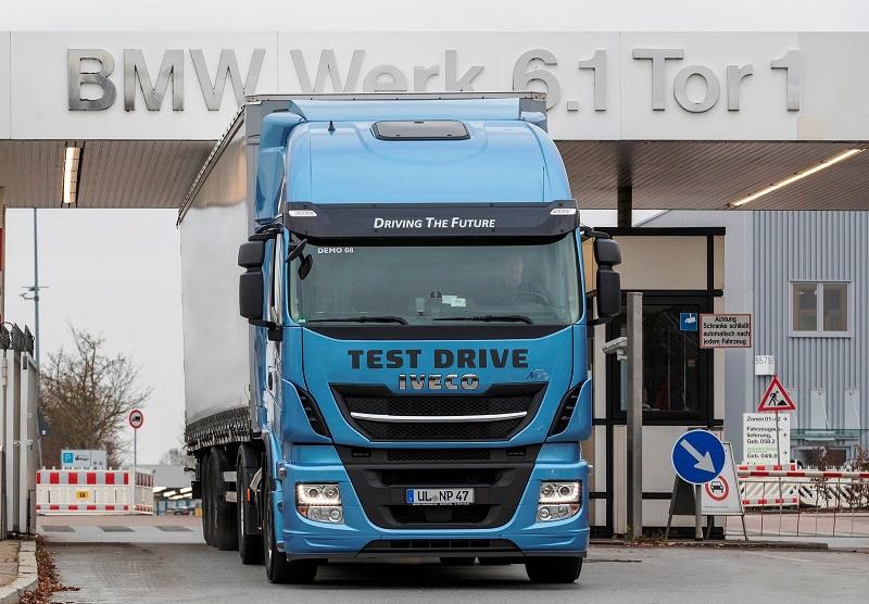 Pomyślne testy ciężarówek na alternatywne paliwo