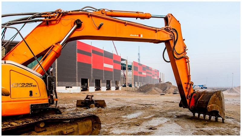 Nowy cross-dock w budowie