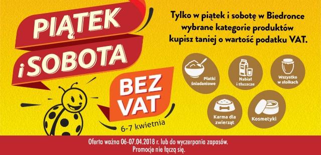 Promocje i w kropki i bez VAT
