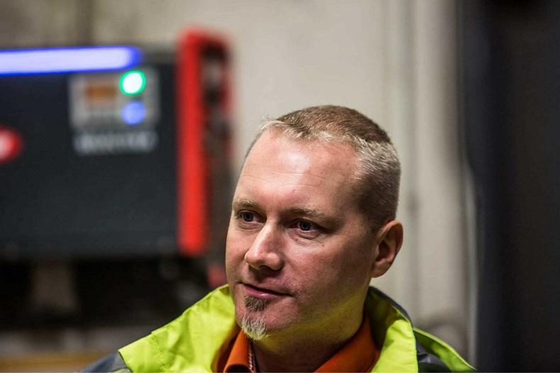 Dietmar Landor, kierownik wiedeńskiego centrum logistycznego TNT