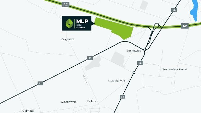 Park logistyczny MLP Stryków