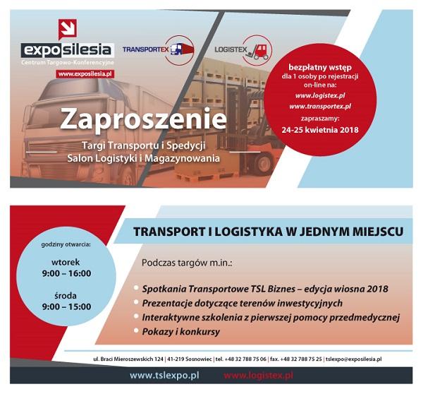 Targi TRANSPORTEX w Sosnowcu