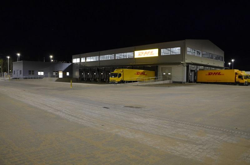 Kolejny terminal  DHL PARCEL