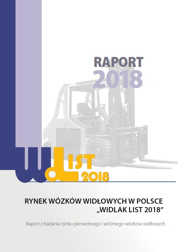Raport o rynku wózków widłowych Widlak List 2018