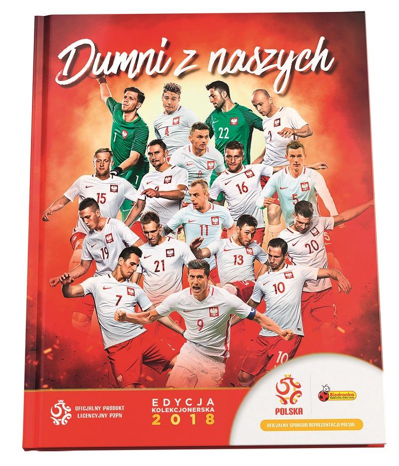 Piłkarska kadra w Biedronce