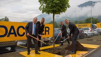 Nowe centrum logistyczne w Tyrolu