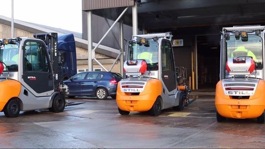 Modernizacja logistycznego taboru