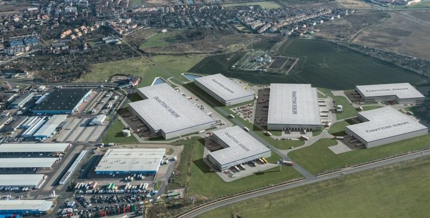 Dystrybutor stali w Panattoni City Logistics Wrocław I