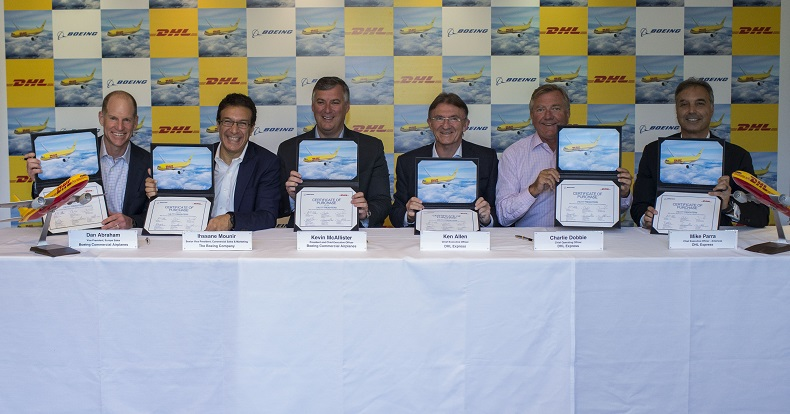 DHL Express Purchase Boeing 777 - Signing Ceremony 150718 - 1