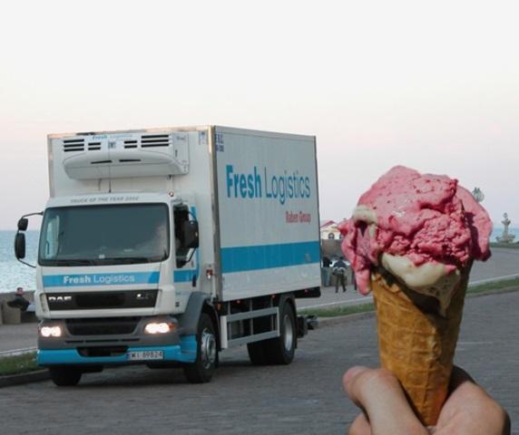 Transport lodów