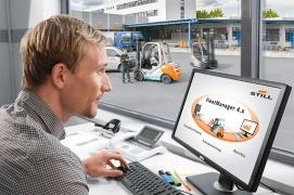 Fleet Manager zarządzanie flotą wózków widłowych