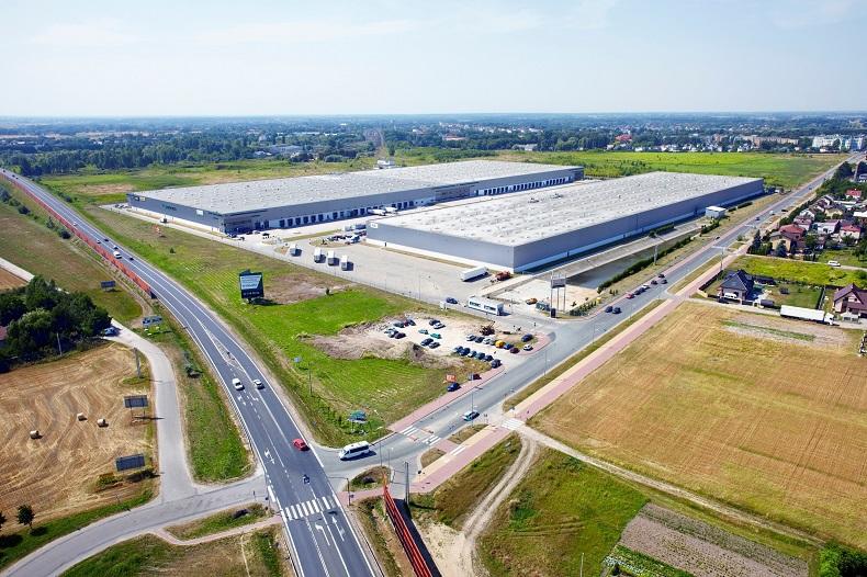 Logistyczna platforma BNP Paribas Real Estate