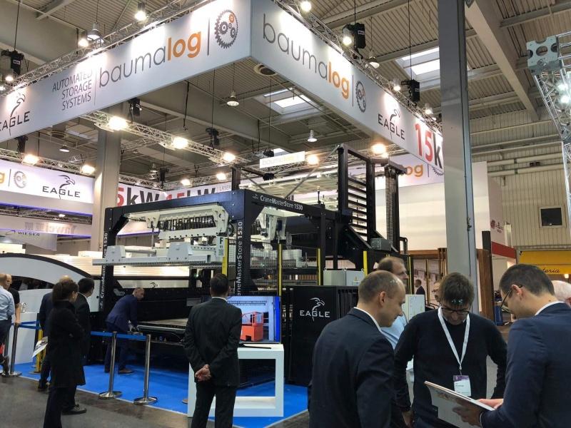 Baumalog zaprezentował regał automatyczny MonoTower w Hanowerze