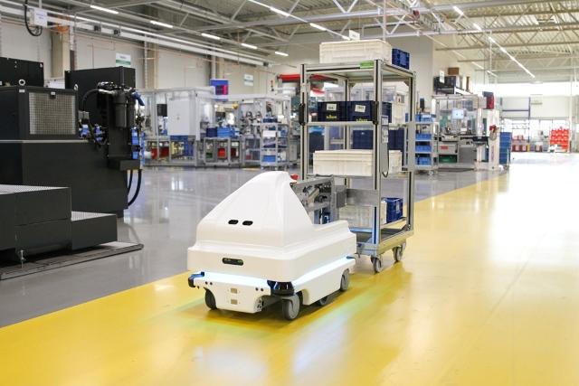 Automatyzacja intralogistyki w NIDEC GPM