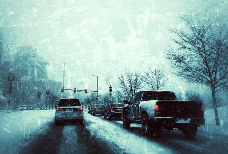 Bezpieczna jazda zimą