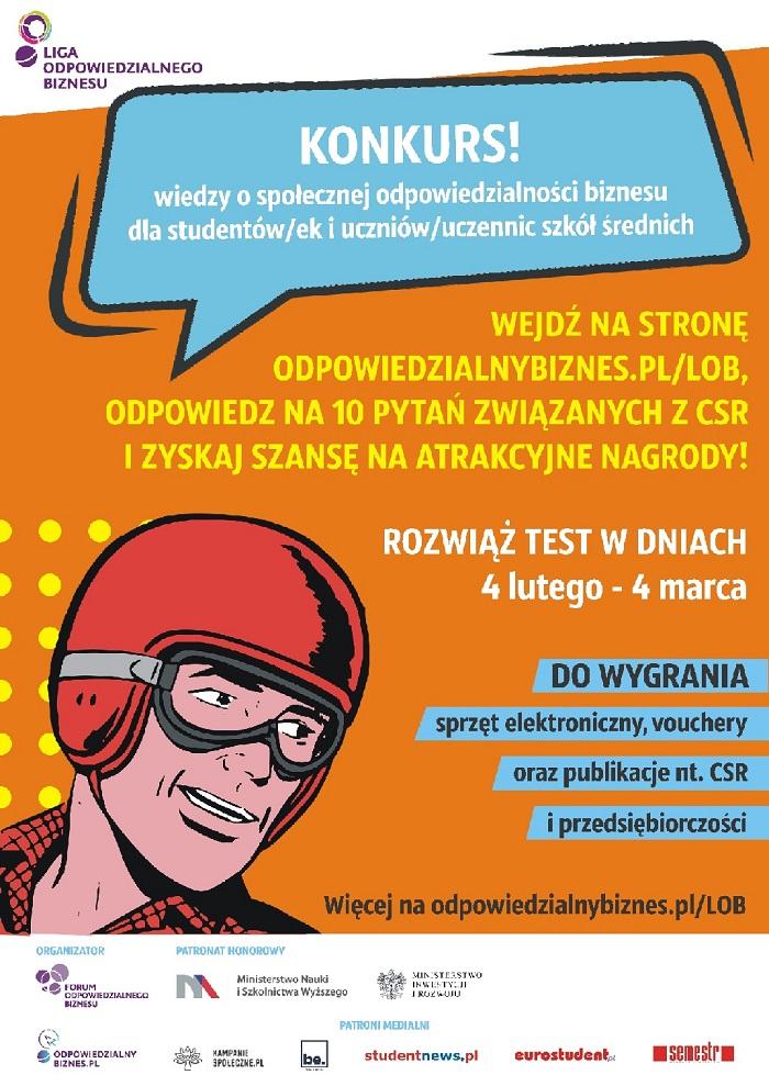 Ogólnopolski konkurs wiedzy o CSR
